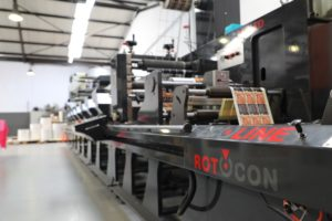 ProPrint's ECOLINE 340 RFP LED flexo press was supplied by ROTOCON.